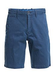 Cotton bermuda shorts - Navy
