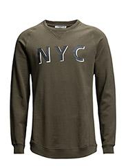NYC sweatshirt - Beige - khaki