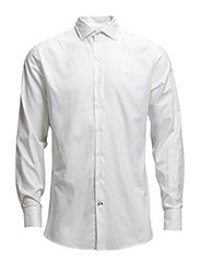 Slim-fit Tailored cotton shirt - White