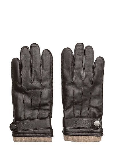 Wool-Lining Leather Gloves