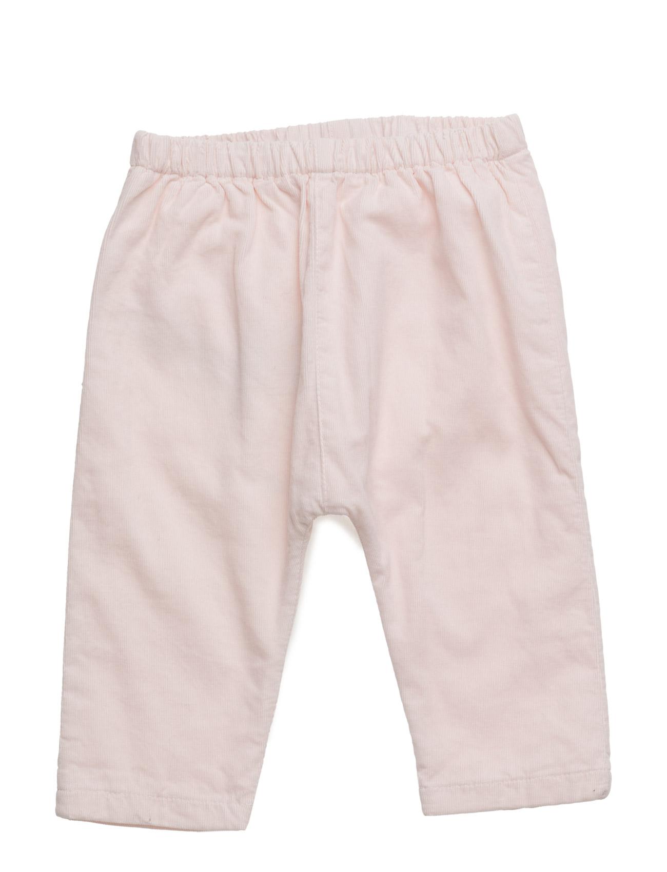 Cotton Corduroy Trousers Mango Kids  til Børn i medium Yellow