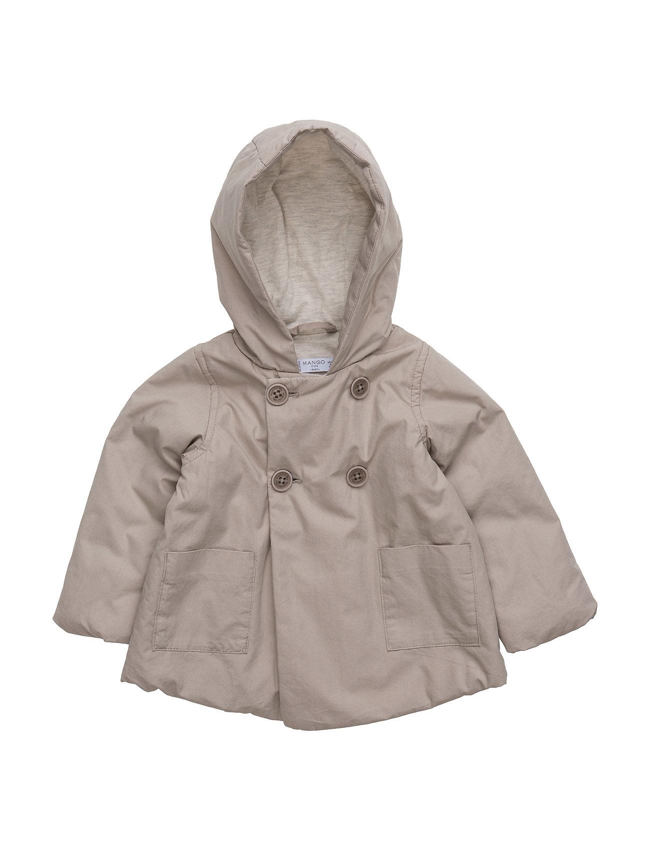 e23813b8 De lekreste Buttoned Cotton Coat Mango Kids Jakker & Kåper til i fantastisk  kvalitet