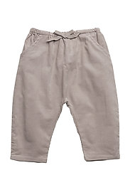 Corduroy baggy trousers - GREY
