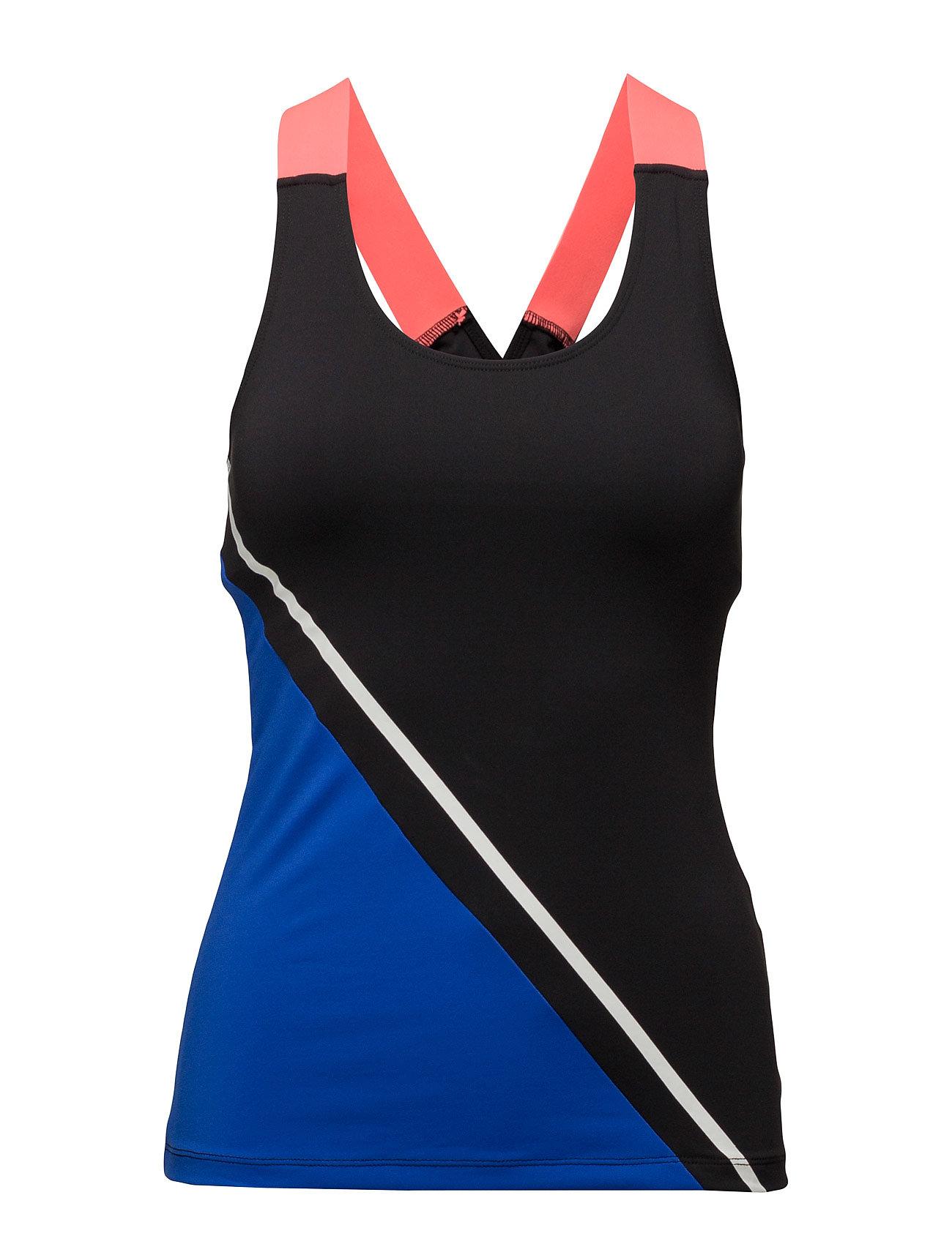 Contrast Panel T-Shirt Mango Sports Sports tank toppe til Damer i Bright blå