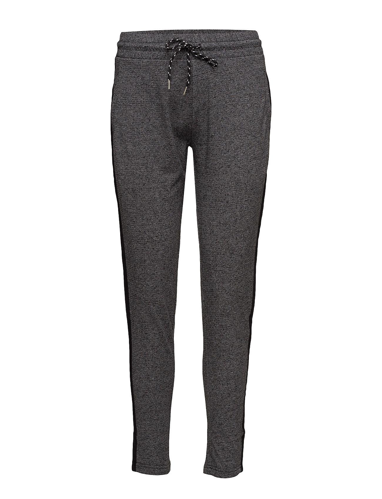 Drawstring Baggy Trousers Mango Sports Træningsbukser til Damer i Mørkegrå