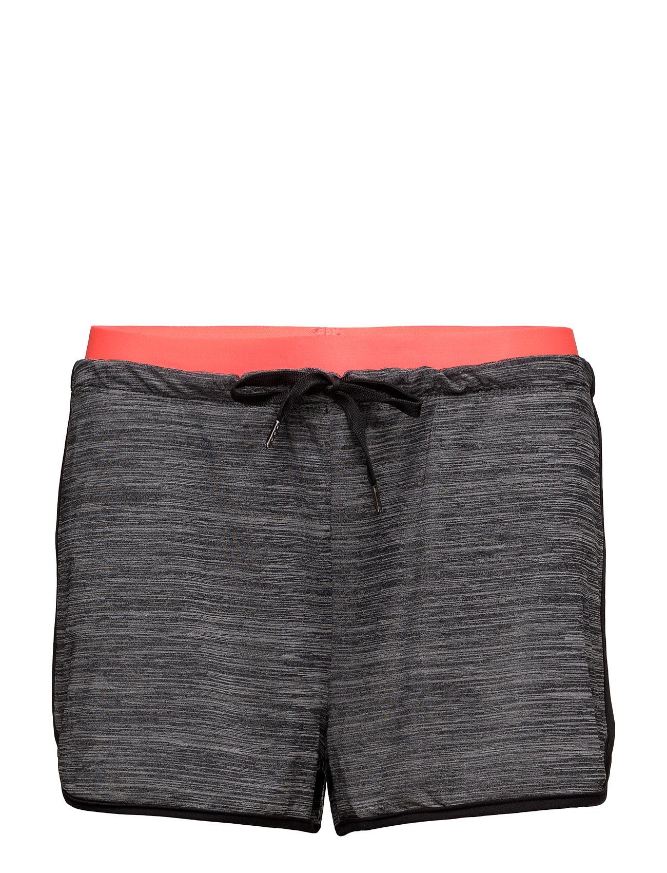 Contrast Waist Short Mango Sports Træningsshorts til Damer i Mellem grå