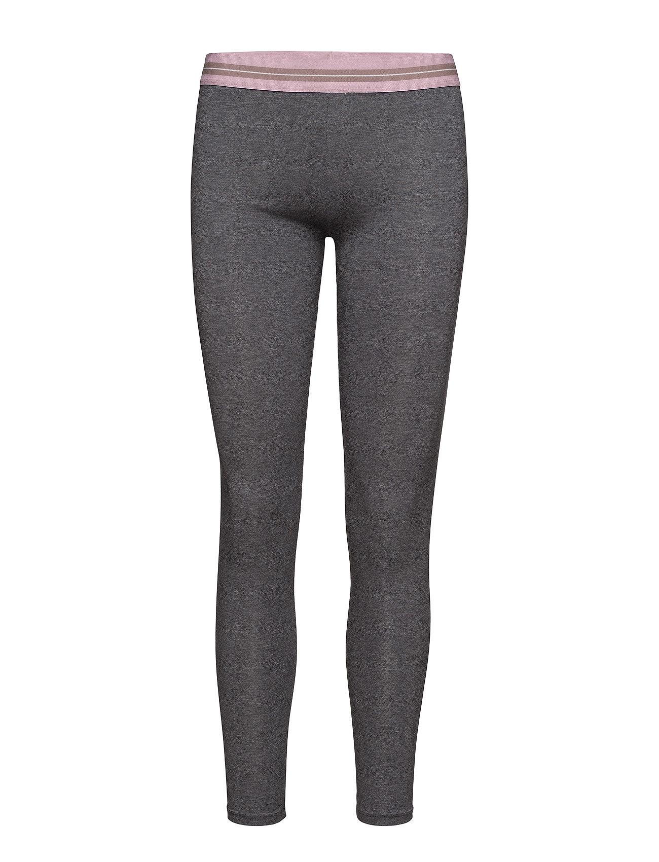 Constrast Waist Leggings Mango Sports Trænings leggings til Damer i Mørkegrå