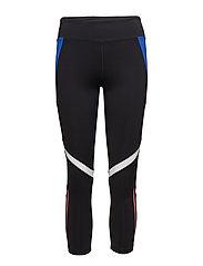 Multi-sport capri leggings - BLACK