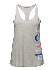 Print flecked t-shirt - LT PASTEL GREY