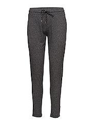 Drawstring baggy trousers - DARK GREY