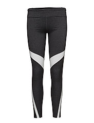Panel contrast leggings - DARK GREY