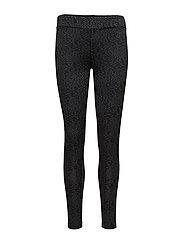 Printed leggings - DARK GREY