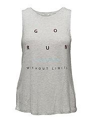 Message Training t-shirt - LT PASTEL GREY