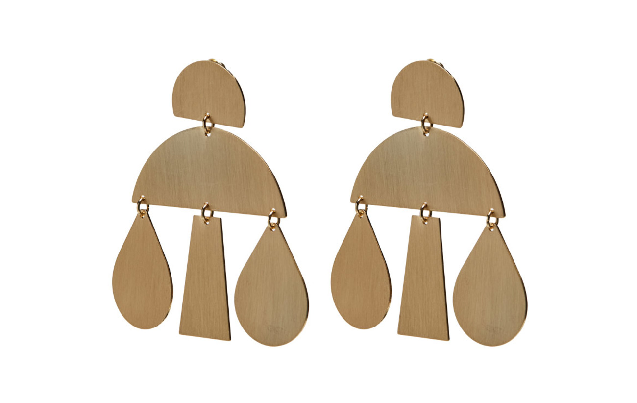 Mango Metal pendants earrings