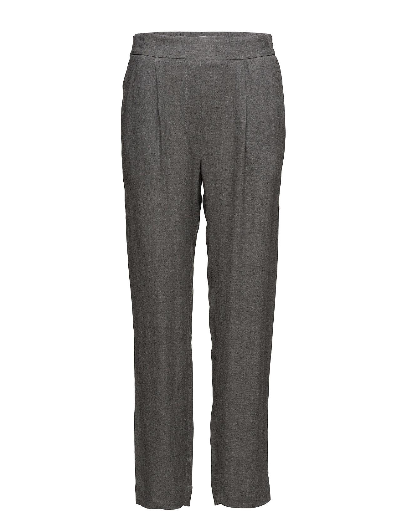 Pleat Detail Trousers Mango Bukser til Damer i Grå