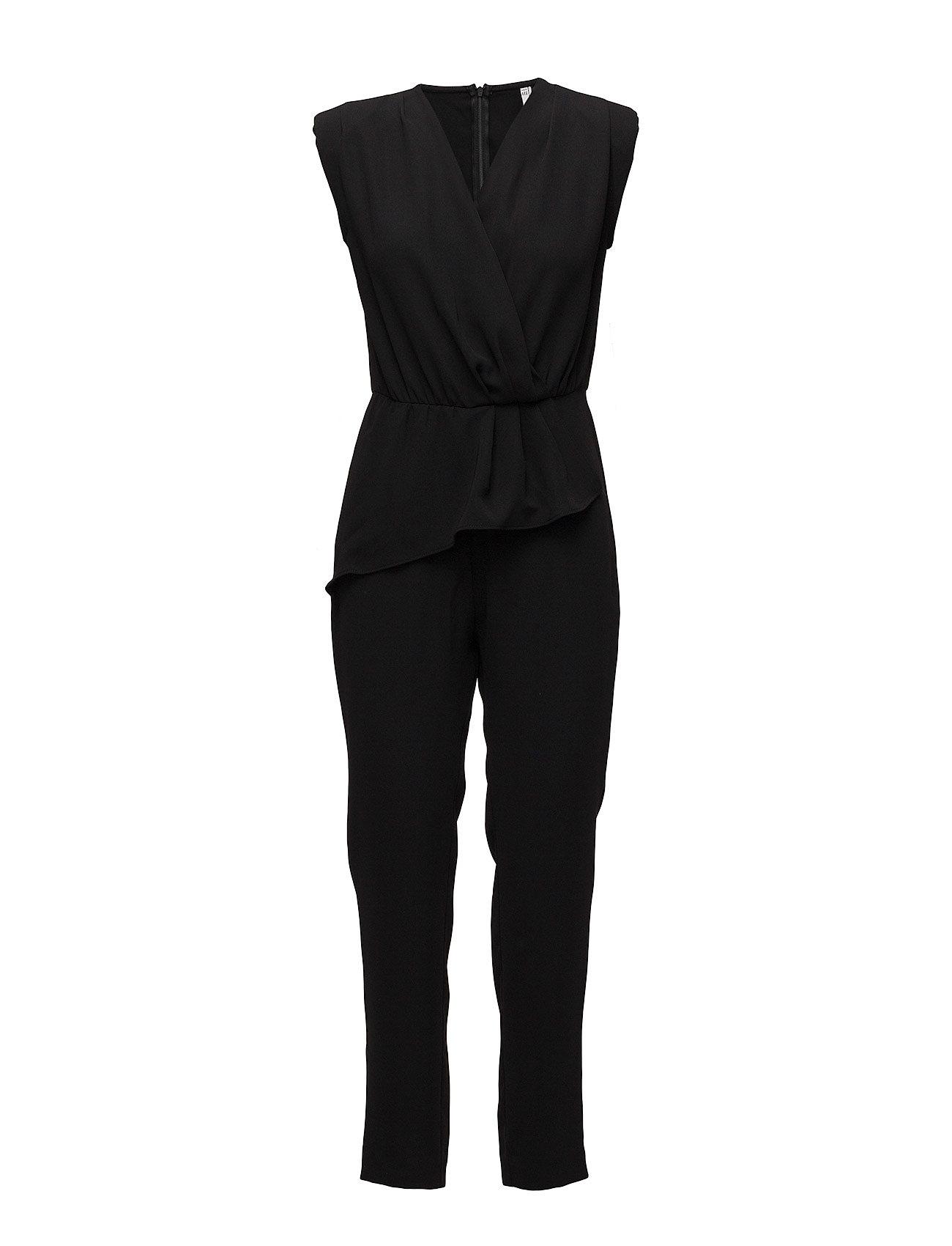 Wrap Neckline Jumpsuit