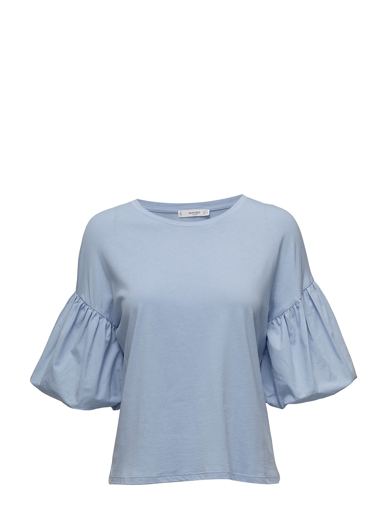 Image of Puffed Sleeves T-Shirt (2604978323)