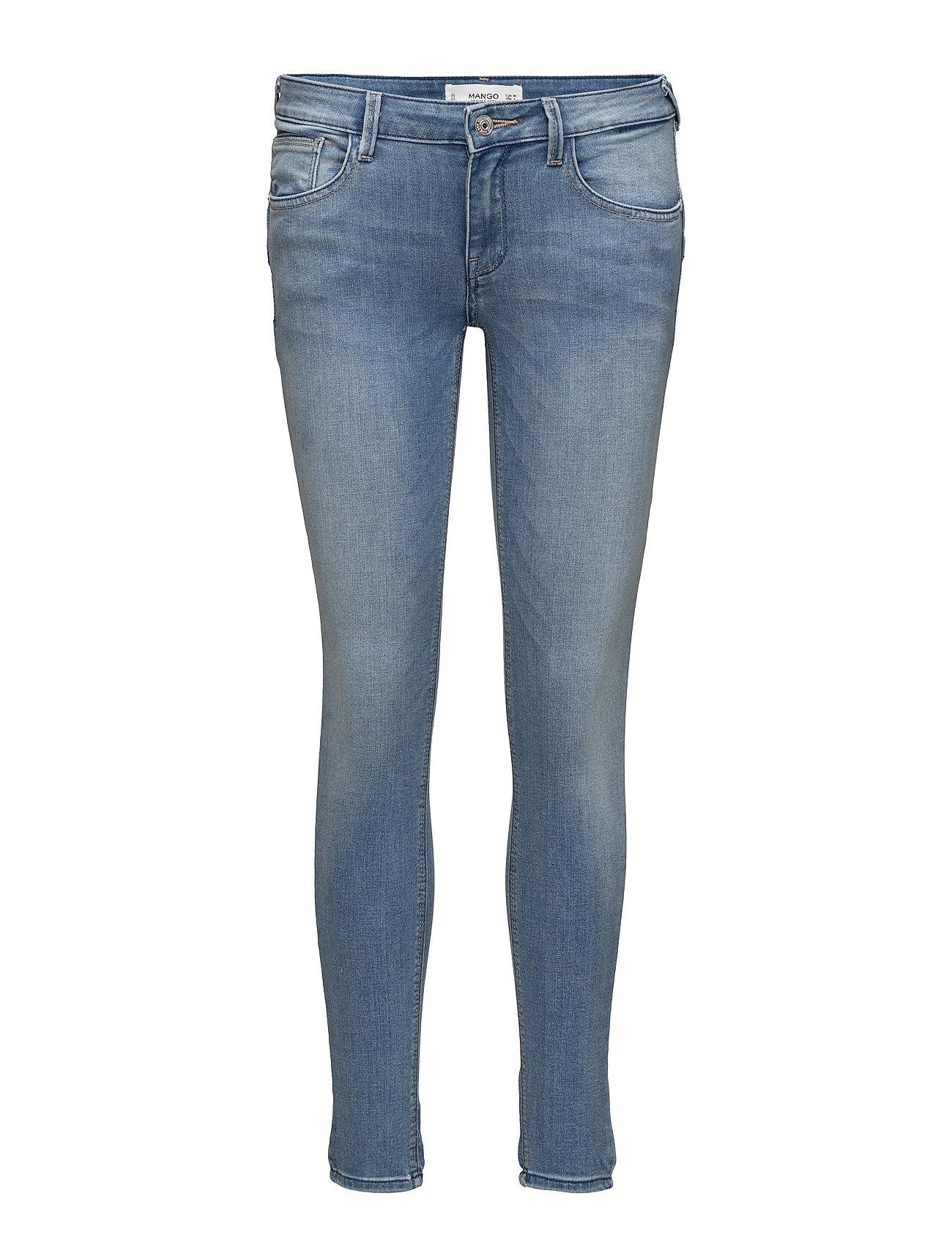 Kim Skinny Push-Up Jeans Mango Jeans til Kvinder i Open Blå
