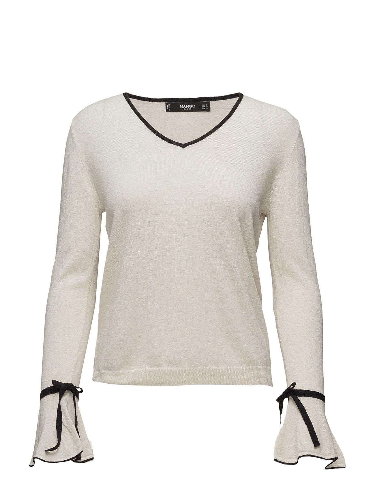 e259dfdb Bestil Flared Sleeve Cotton-Blend Jumper Mango Sweatshirts i Light Beige  til Damer hos Boozt.dk