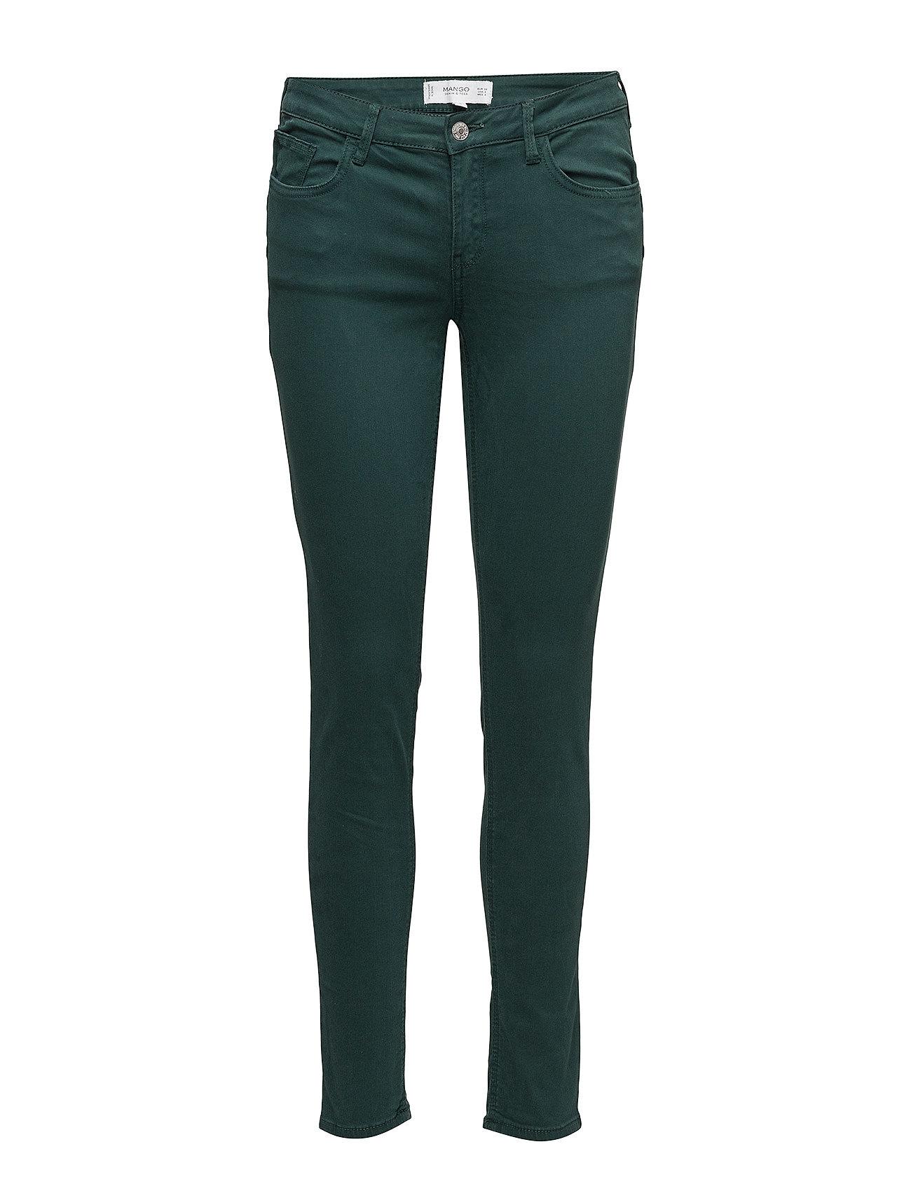 Kim Skinny Push-Up Jeans Mango Skinny til Damer i Grøn