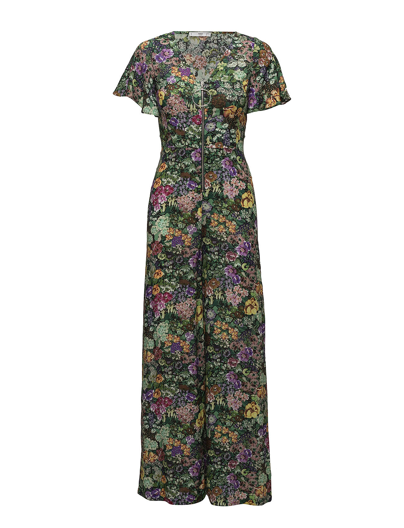 mango – Floral print jumpsuit på boozt.com dk