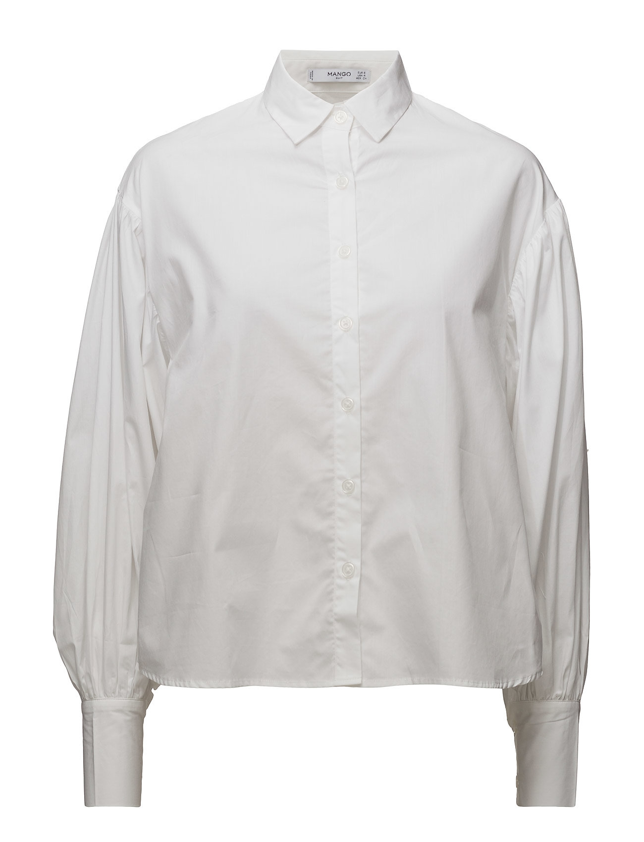 Image of Puffed Sleeves Shirt (2732611173)