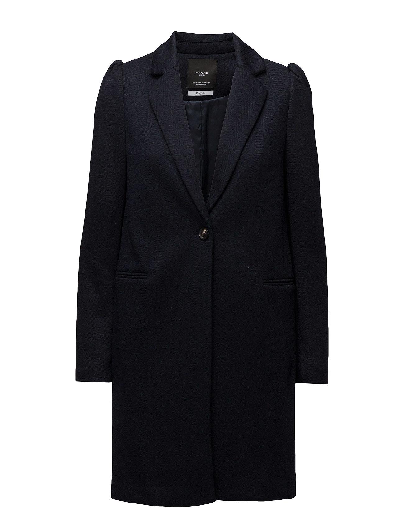 Mango Puffed sleeves coat