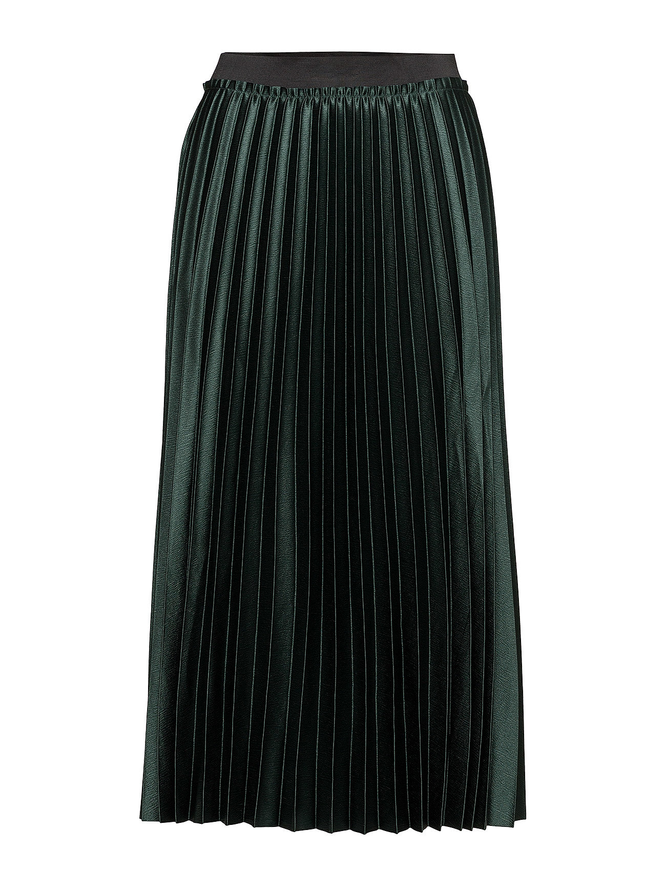 Mango Metallic pleated skirt