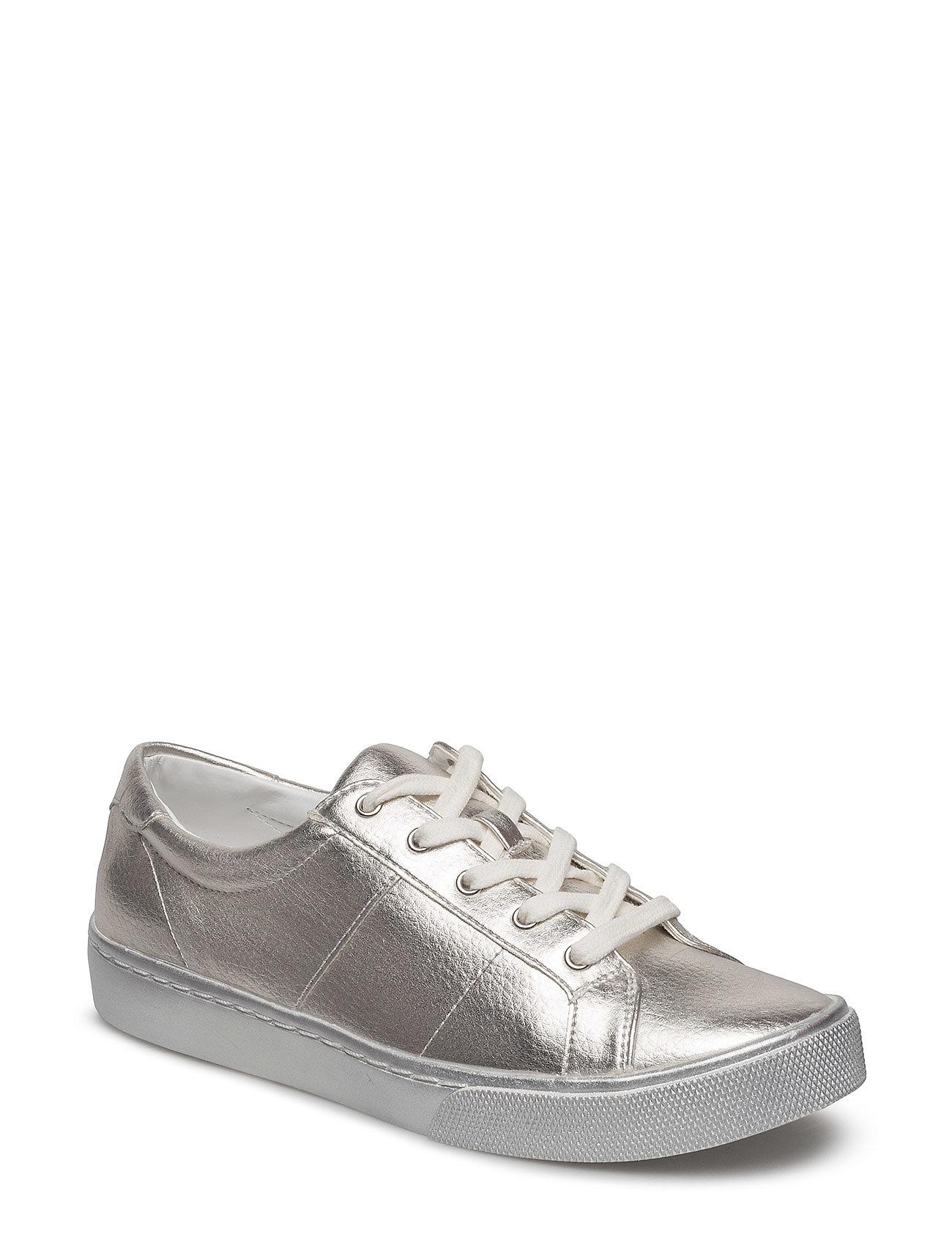 Metallic Effect Sneakers Mango Sneakers til Damer i Sølv