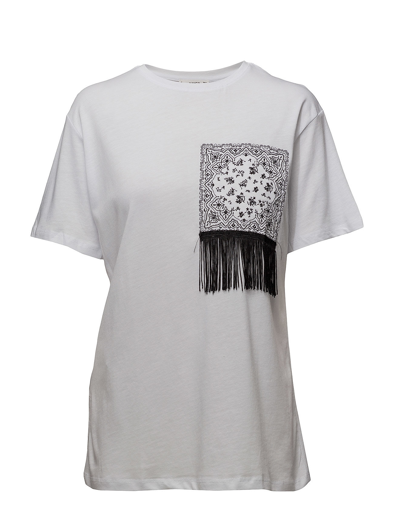 Fringe Cotton T-Shirt thumbnail