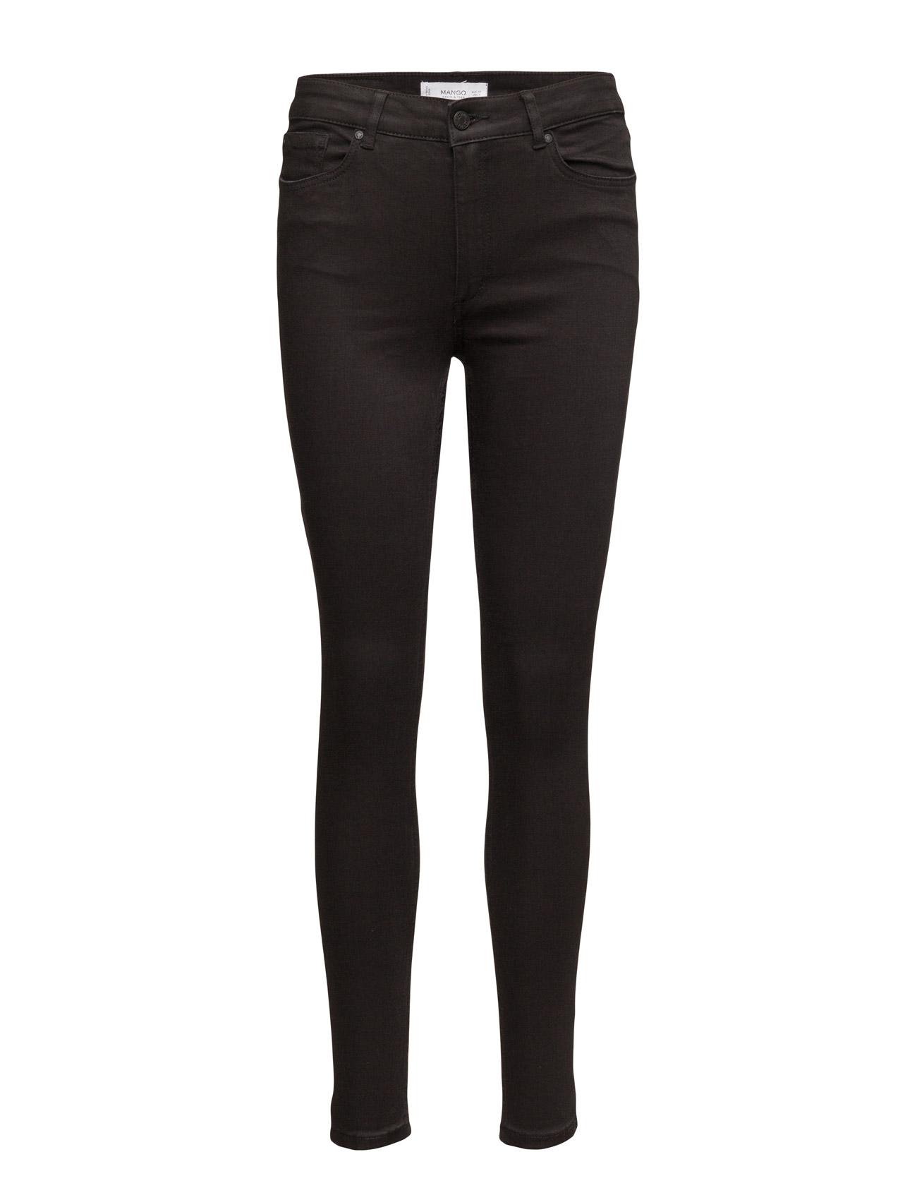 Super Slim-Fit Andrea Jeans Mango Skinny til Kvinder i Open Grey