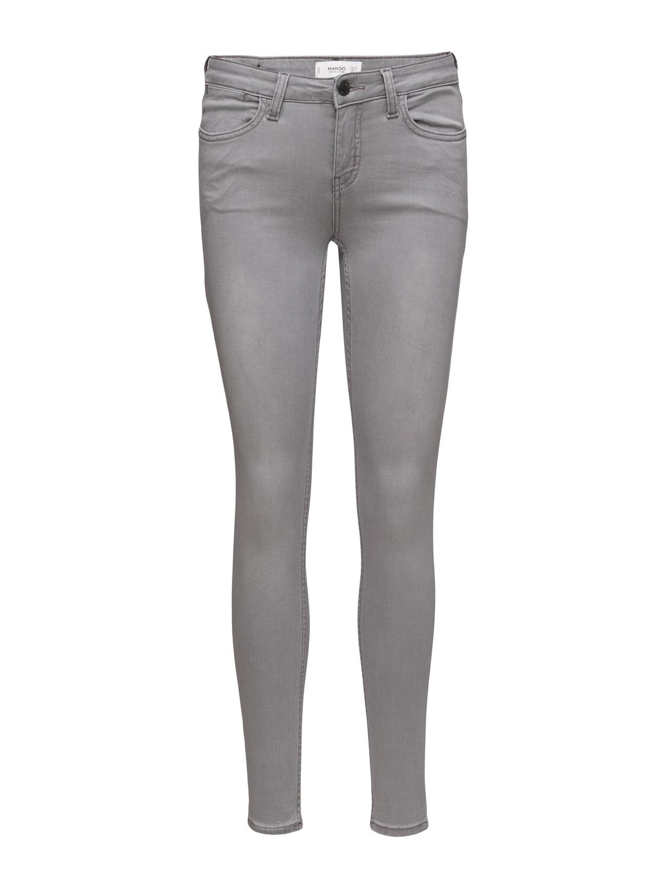 Skinny Elektra Jeans Mango Skinny til Kvinder i Open Grey