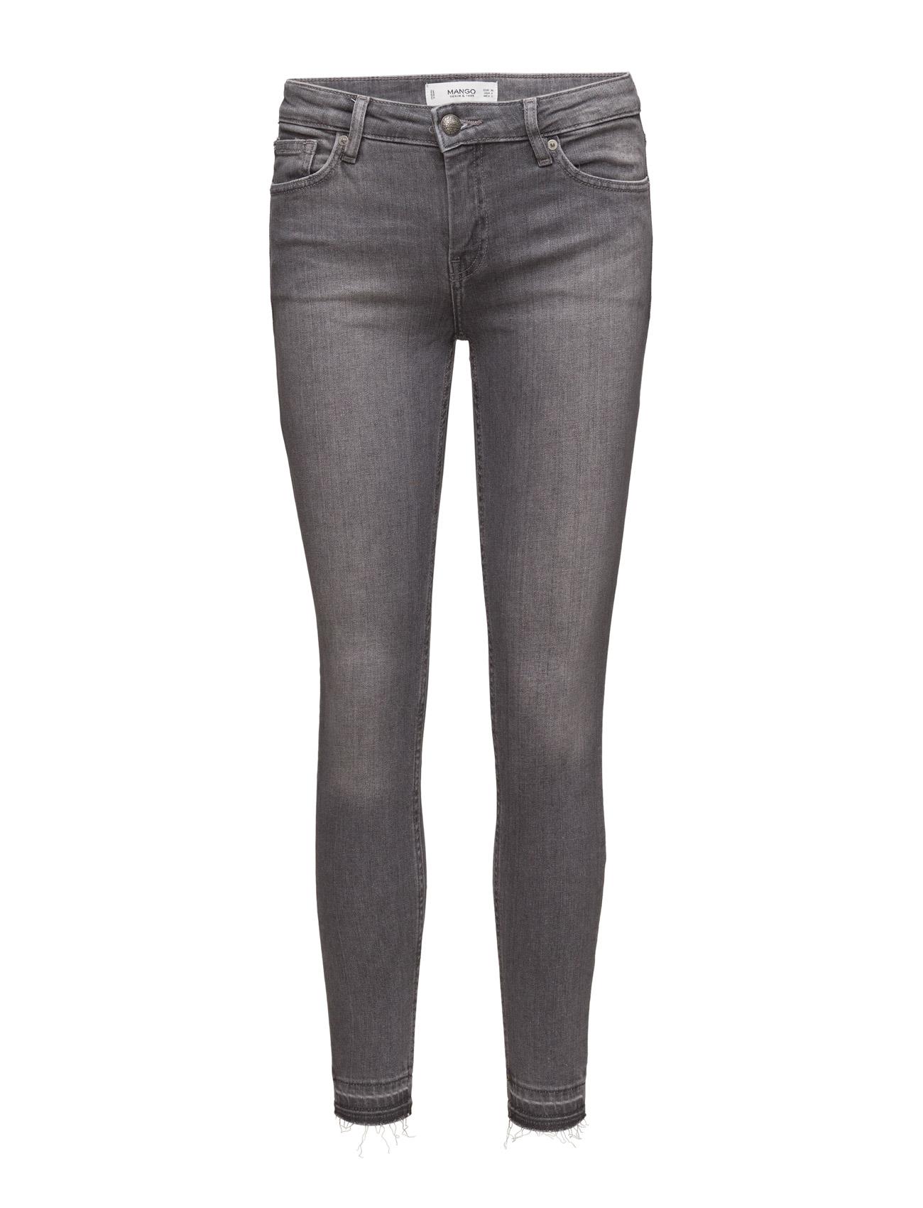 Skinny Olivia Jeans Mango Skinny til Kvinder i Open Grey