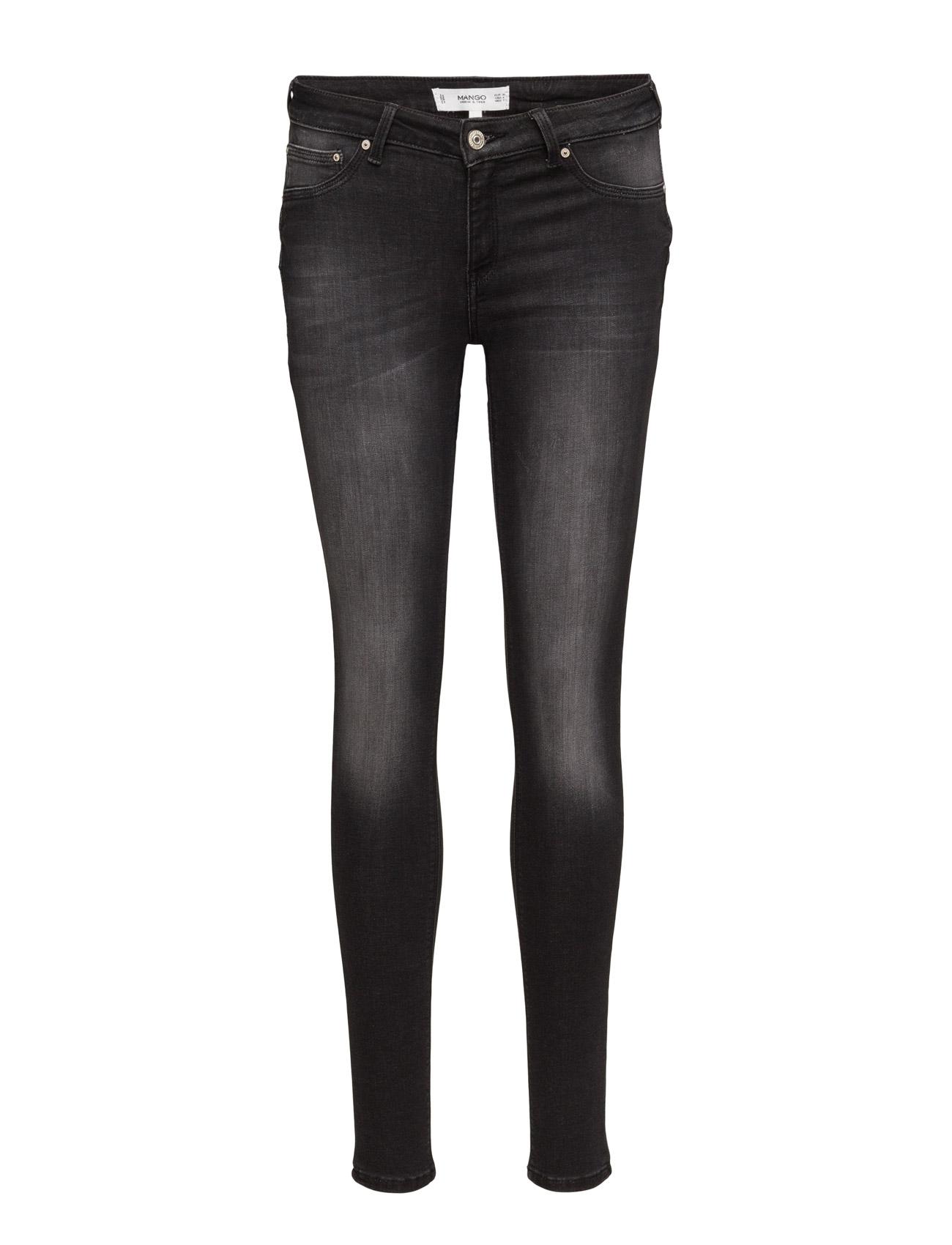 Kim Skinny Push-Up Jeans Mango Skinny til Kvinder i Open Grey