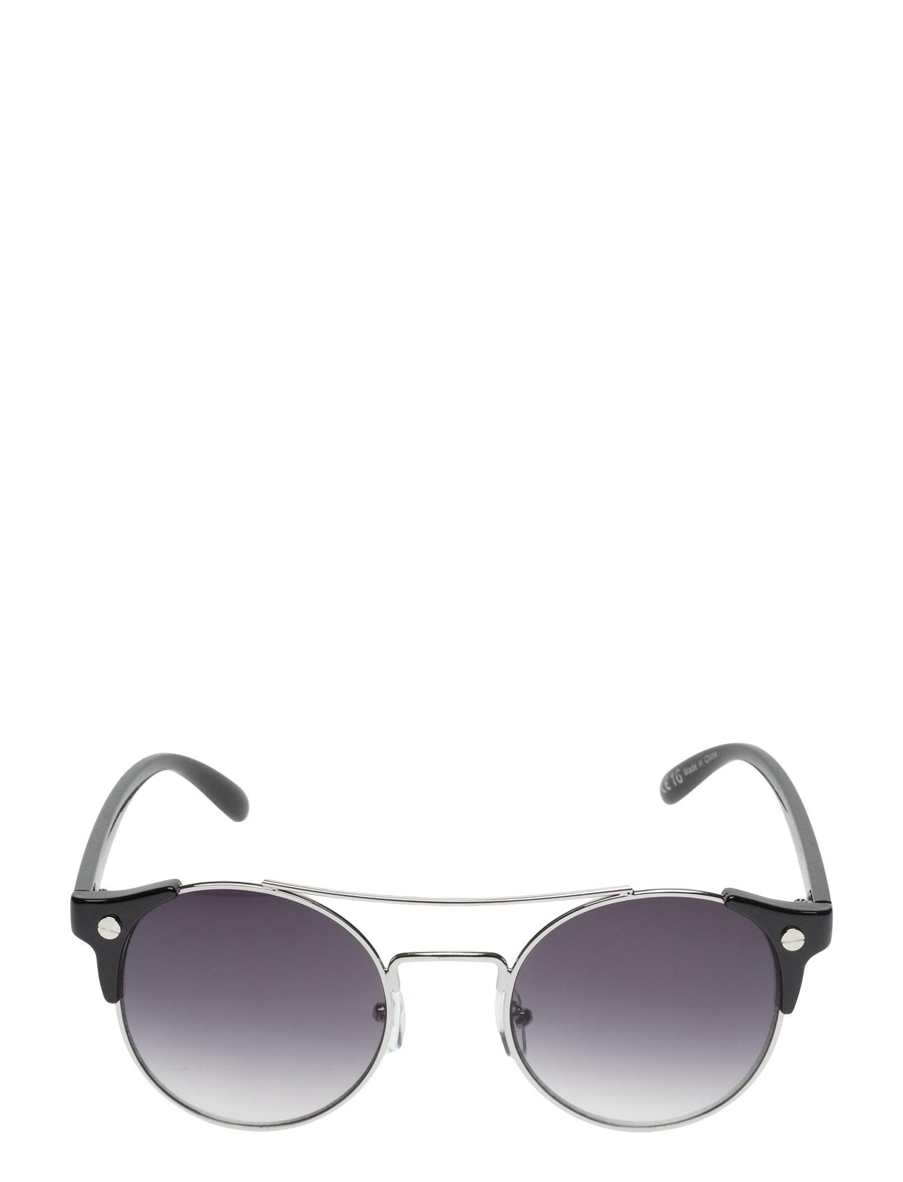 Contrast Arm Sunglasses Mango Solbriller til Kvinder i Sort