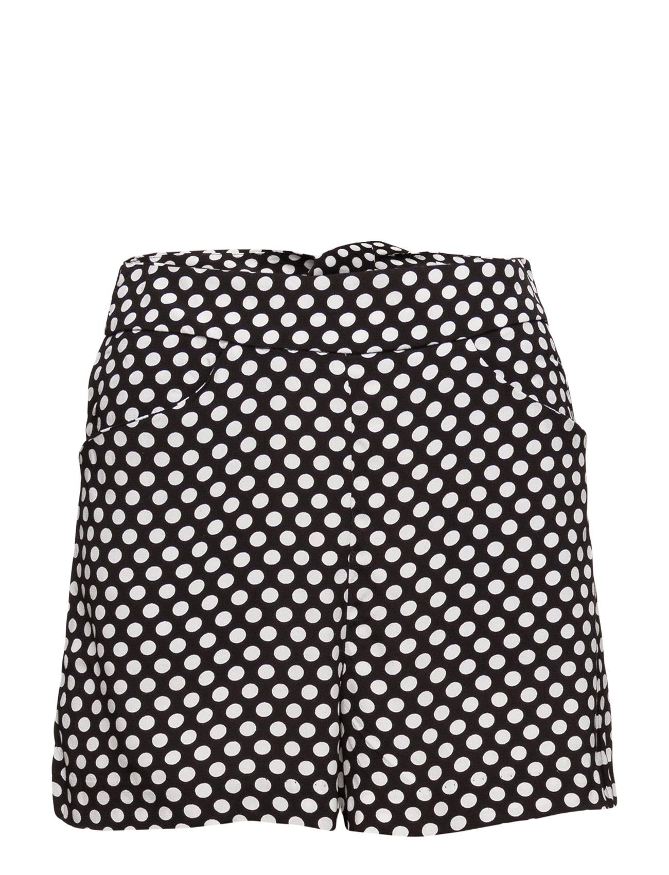 Printed Shorts Mango  til Kvinder i hvid