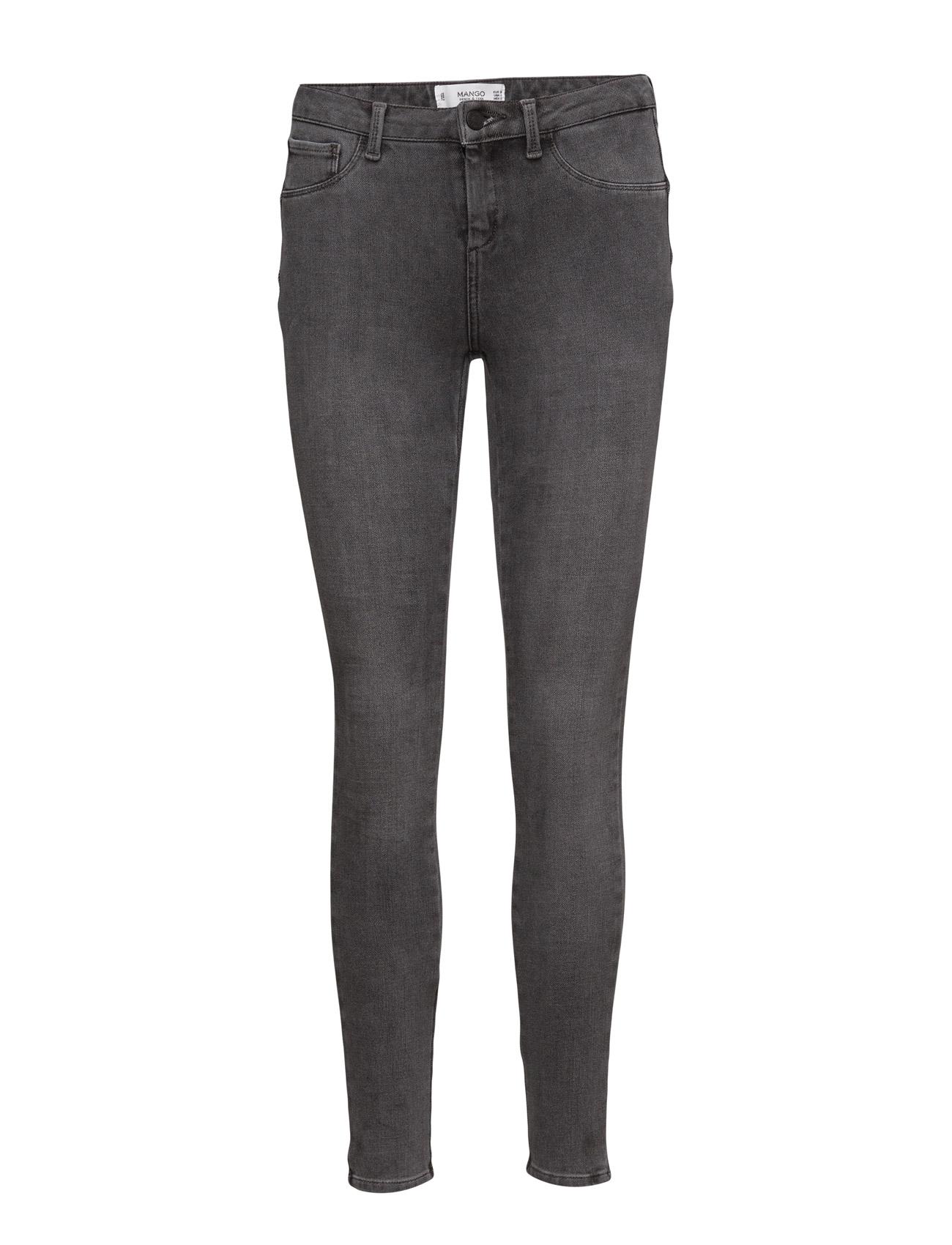 Irina Skinny Push-Up Jeans Mango Skinny til Kvinder i Open Grey