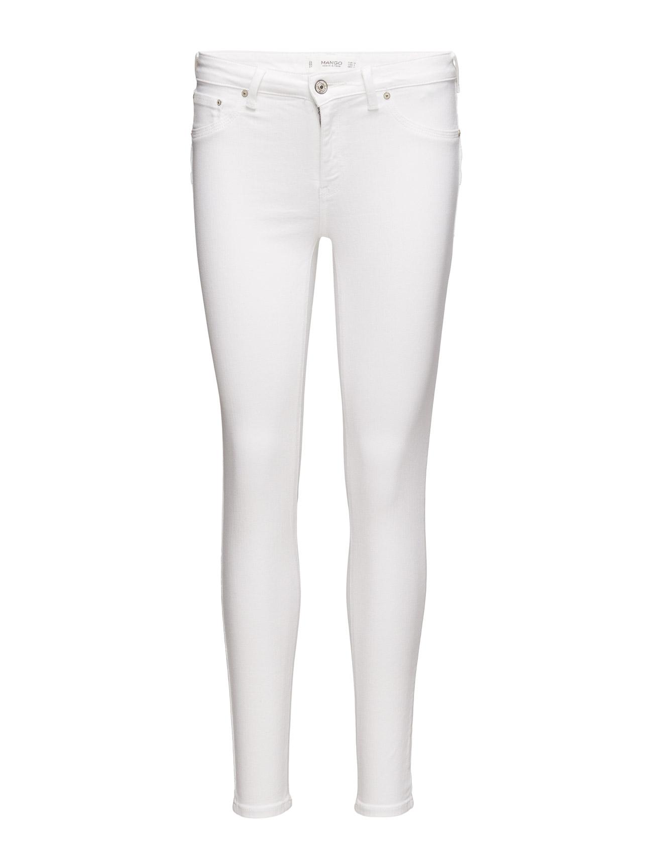 Kim Skinny Push-Up Jeans Mango Skinny til Kvinder i hvid