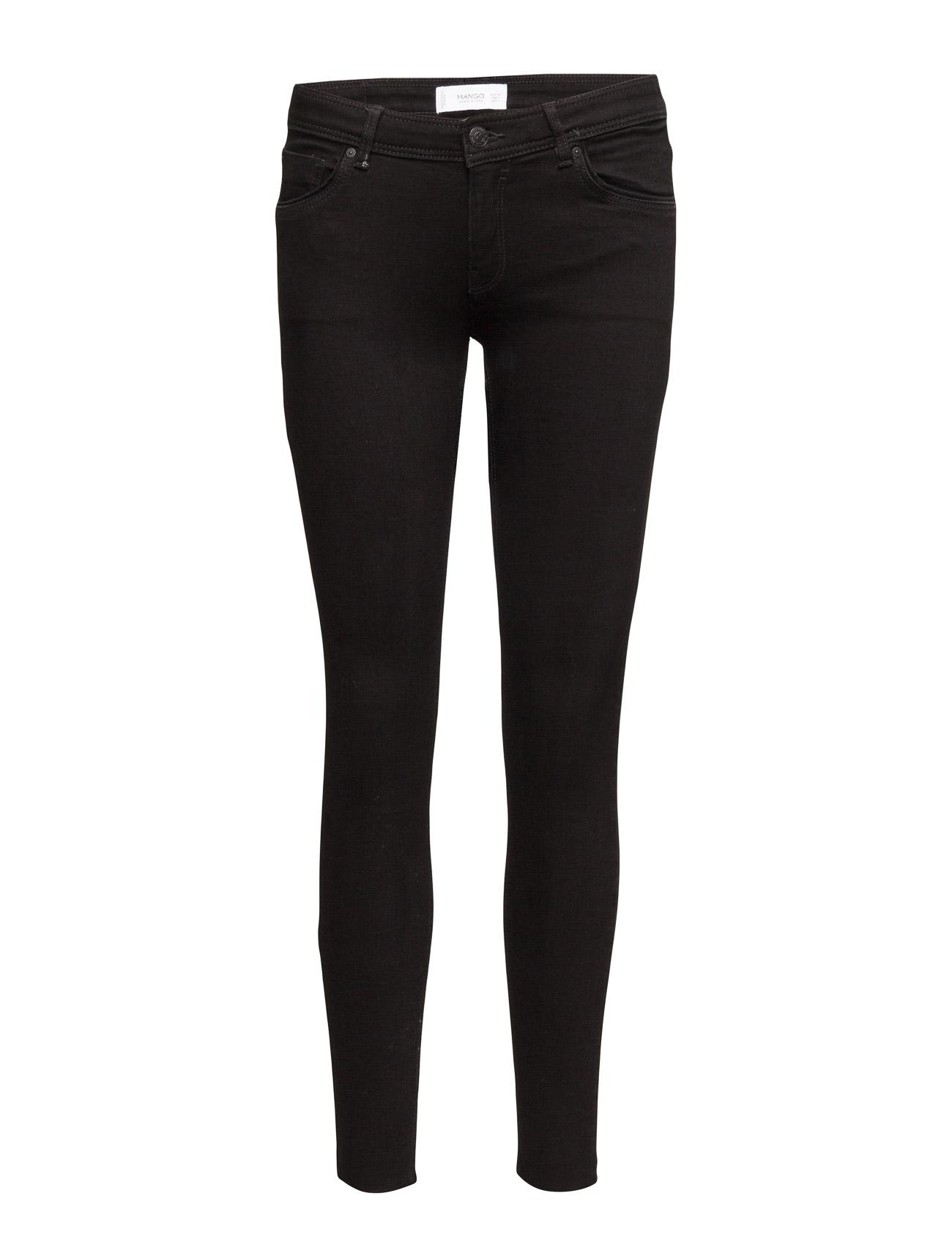 Low Waist Mery Jeans Mango Skinny til Kvinder i Open Grey