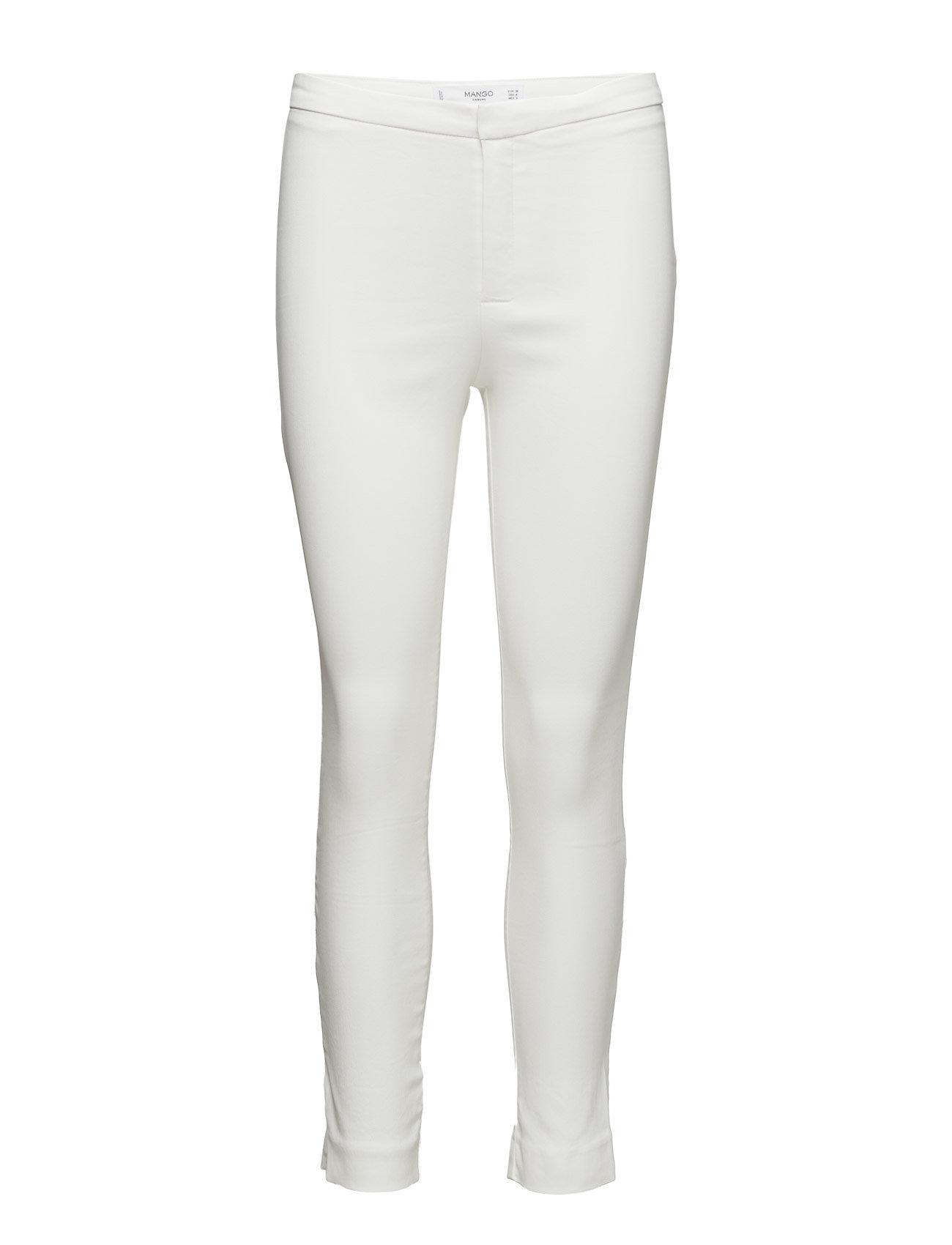 Zip-Pocket Slim-Fit Trousers Mango Skinny til Damer i