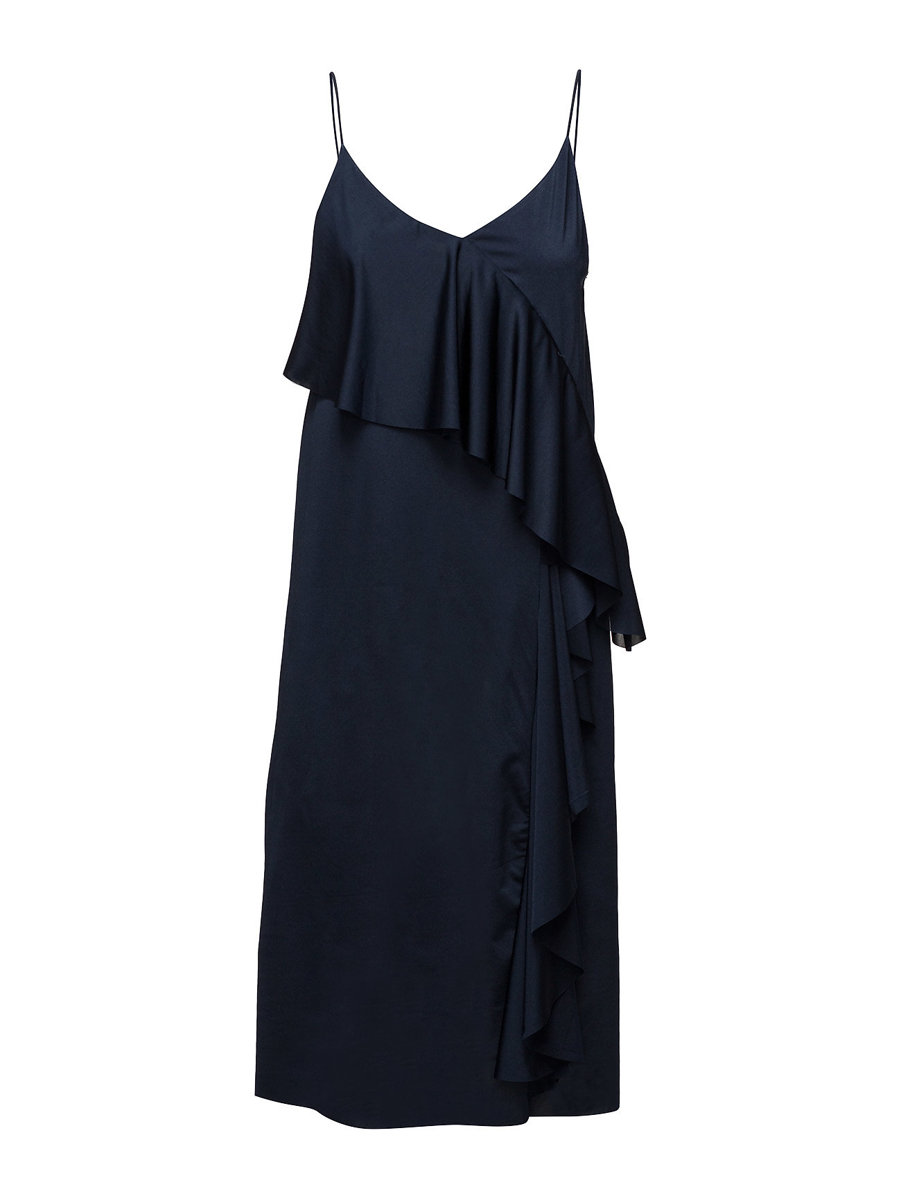 fd4e130e Flowy Ruffled Dress Mango Kne & Medium til - MoteJakten.no ...