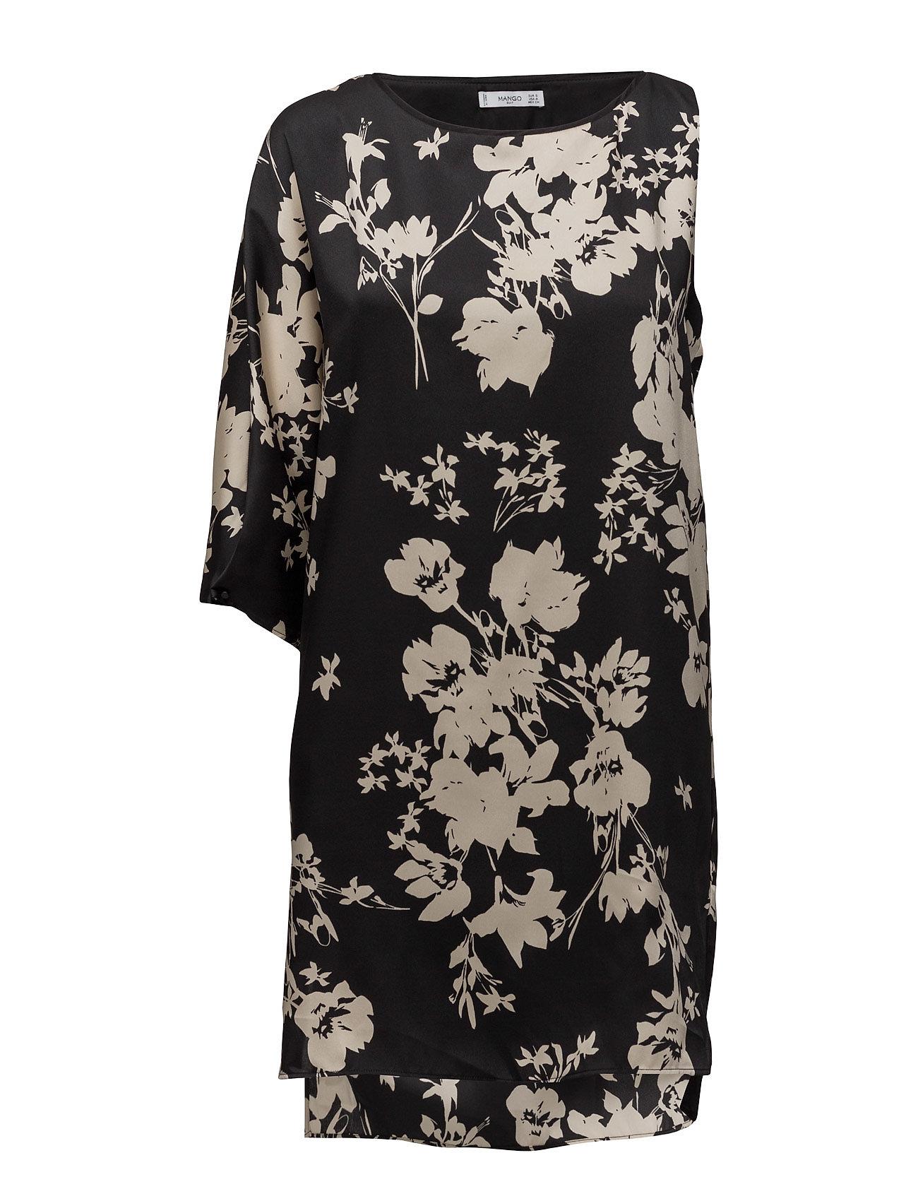 Asymetric Dress Mango Korte kjoler til Damer i Sort
