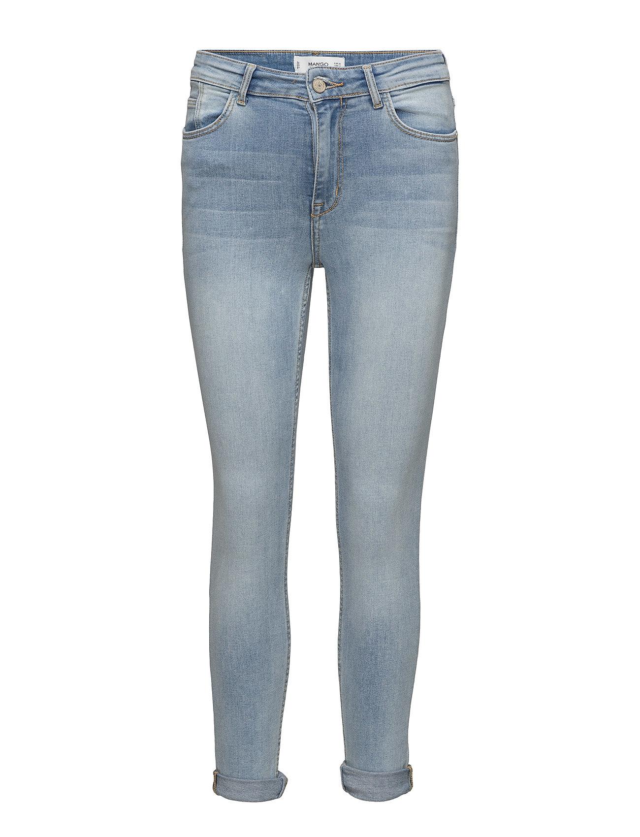 Soho Skinny Jeans Mango Jeans til Kvinder i Open Blå
