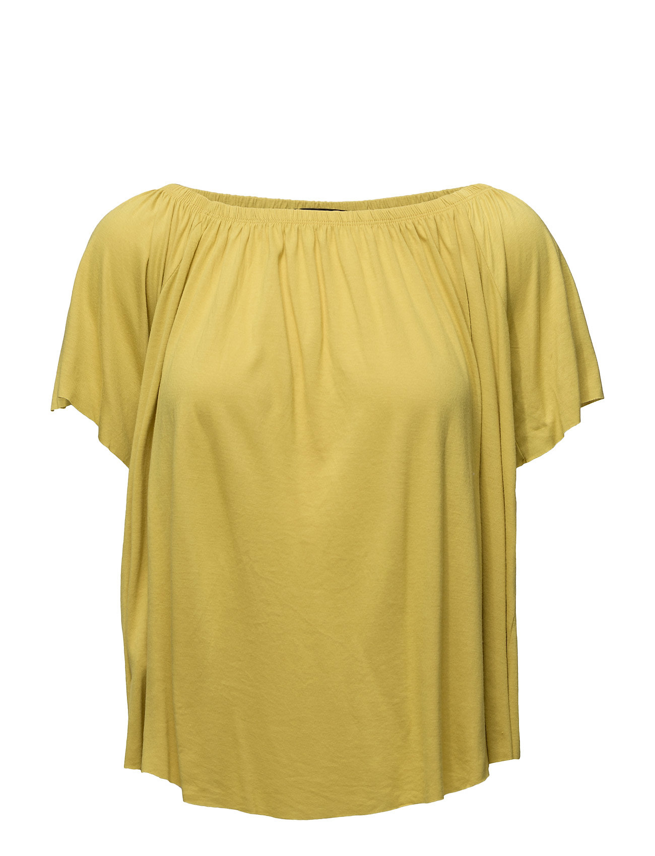 Off-Shoulder T-Shirt Mango Kortærmede til Damer i