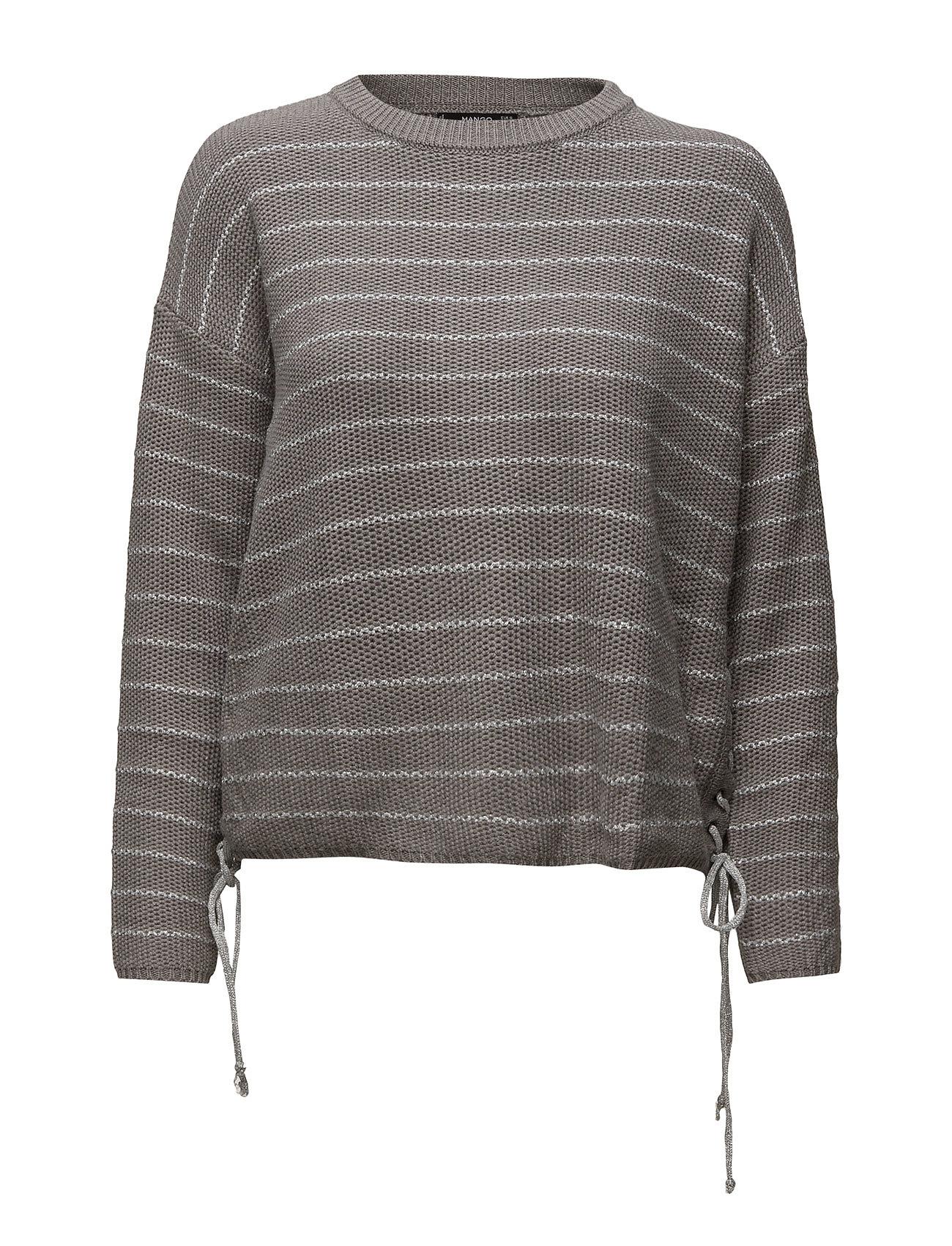 Braided Cord Sweater Mango Sweatshirts til Damer i Grå