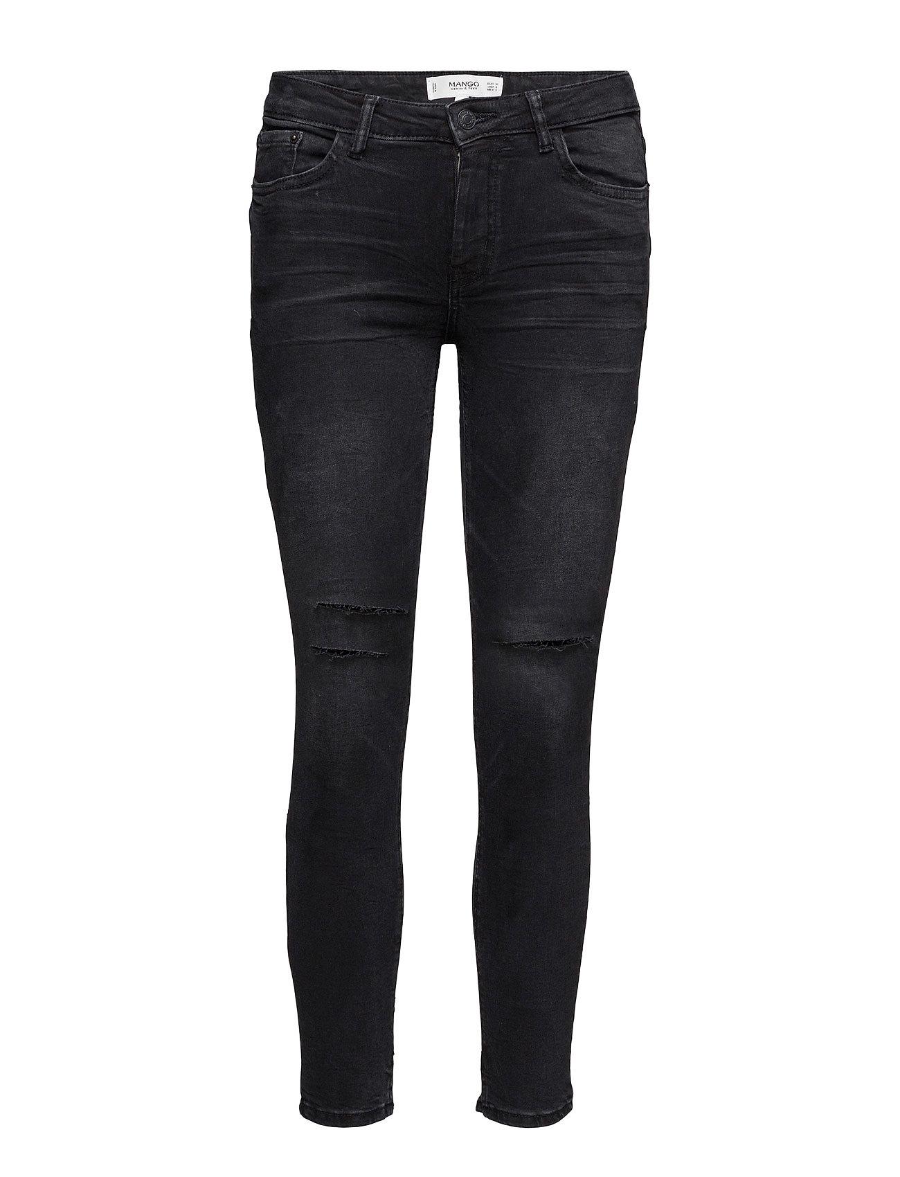 Crop Skinny Isa Jeans Mango Skinny til Damer i