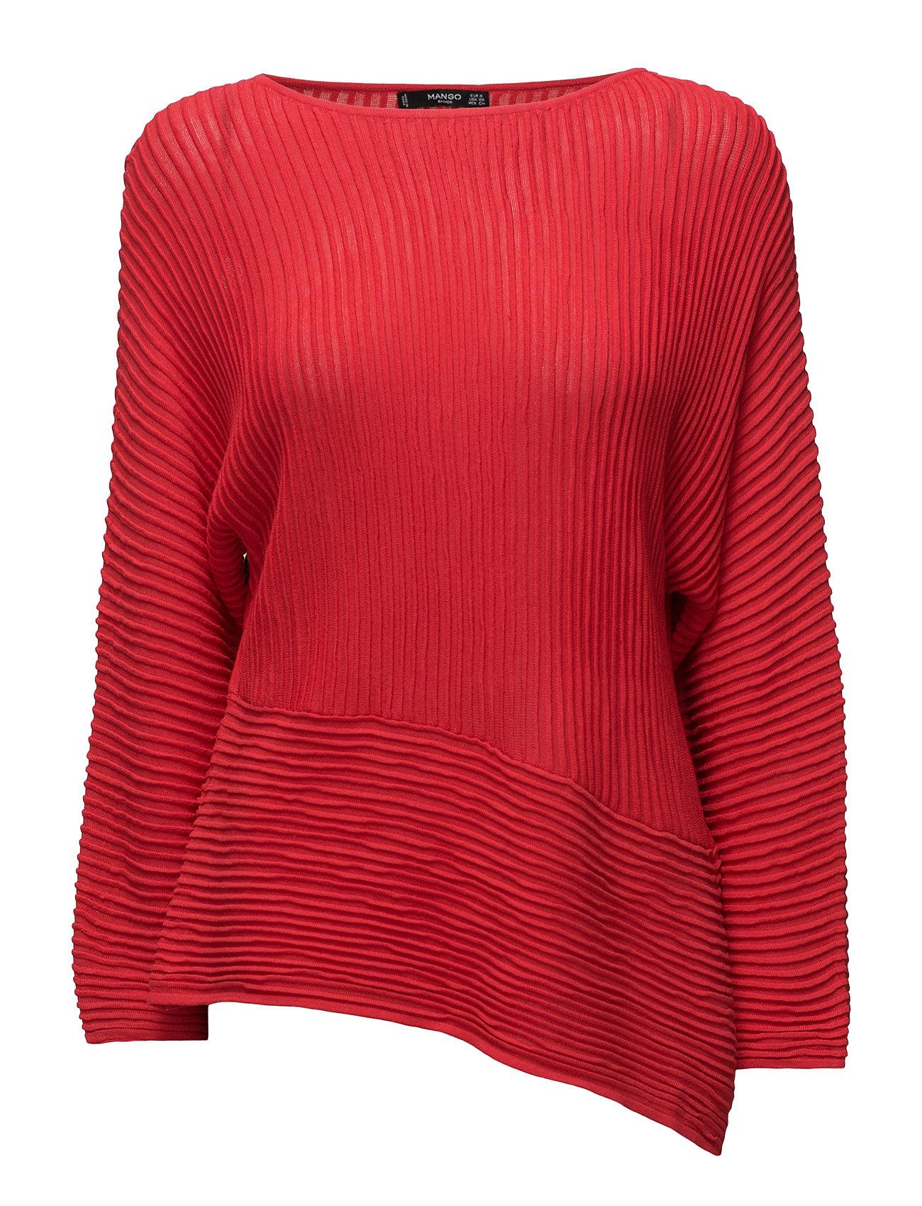 Stripe Textured Sweater Mango Sweatshirts til Damer i