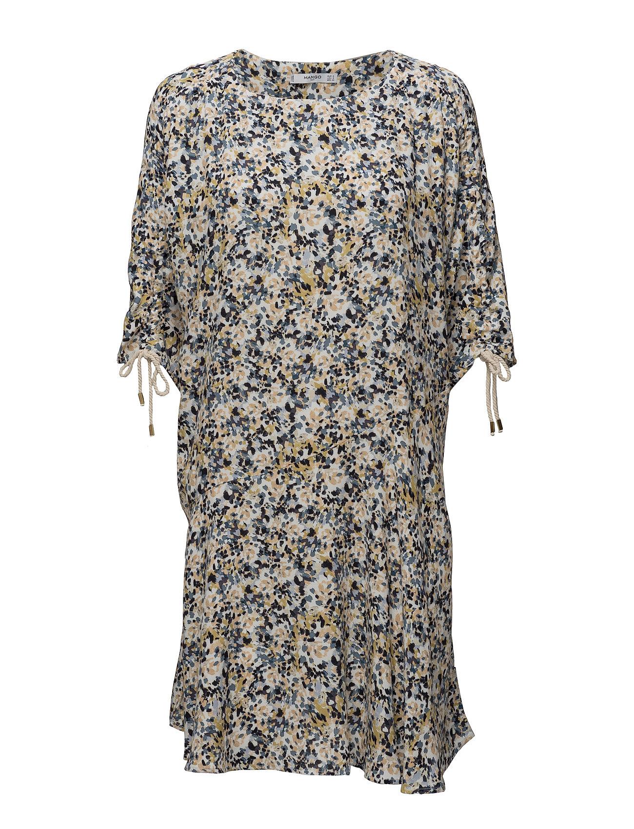 Asymmetric Hem Dress Mango Kjoler til Kvinder i