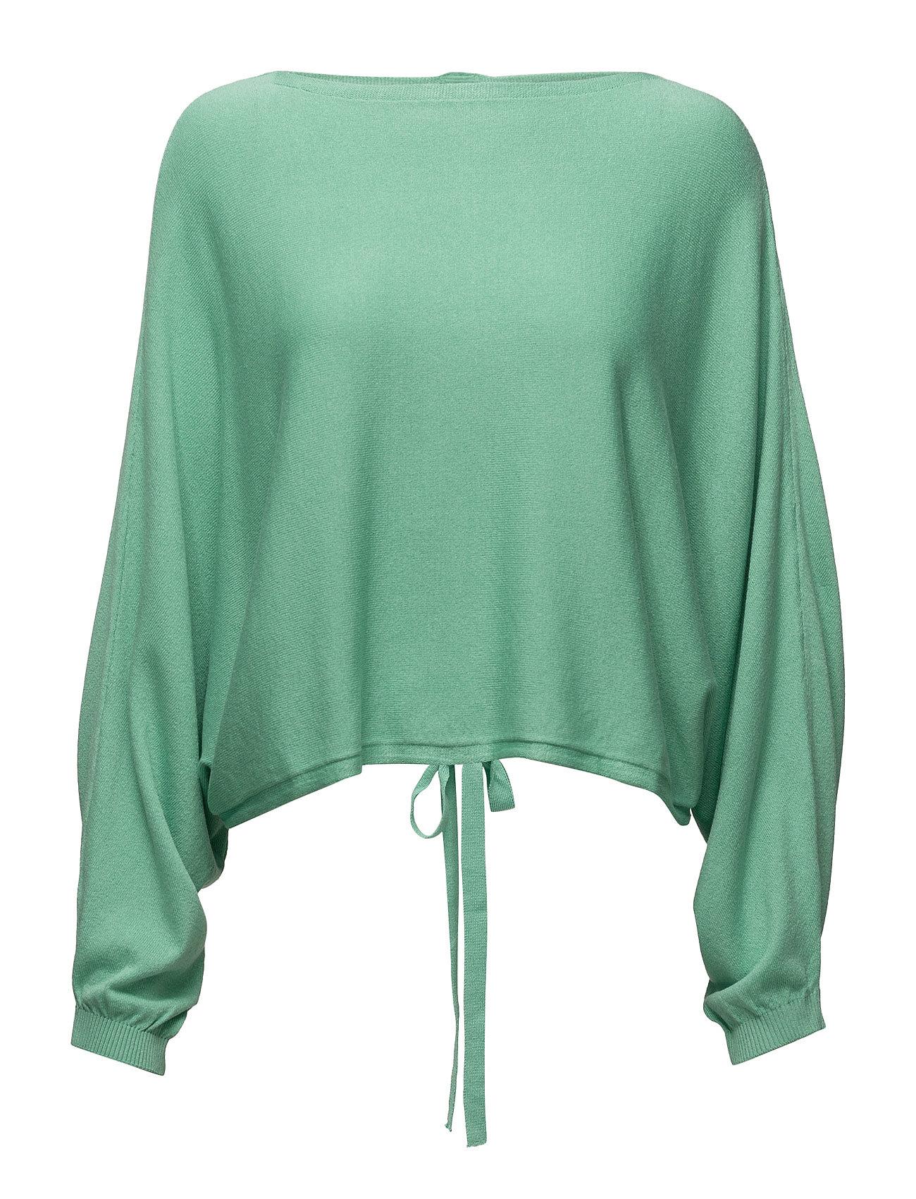 Back Vent Sweater Mango Sweatshirts til Damer i Grøn