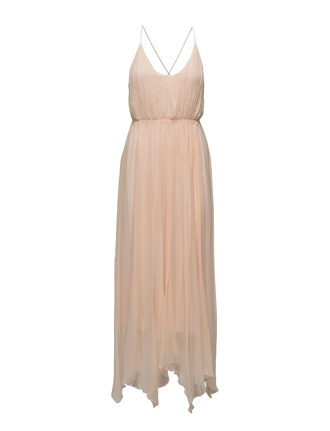 100% Silk Dress Mango Maxi Klänningar